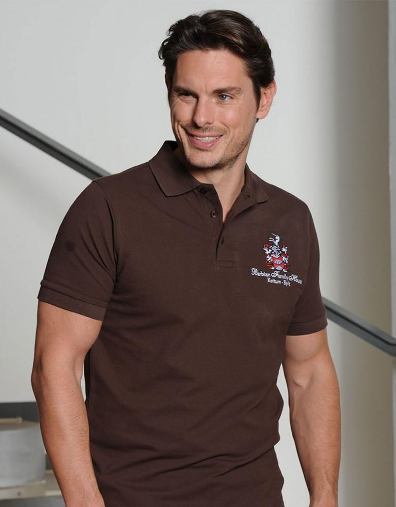 Herren Stretch Poloshirt Milo