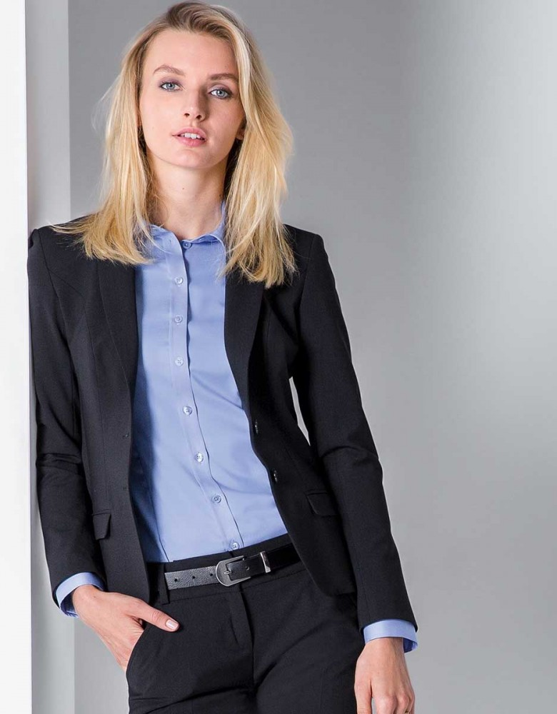 Damen Blazer Premium Slim Fit