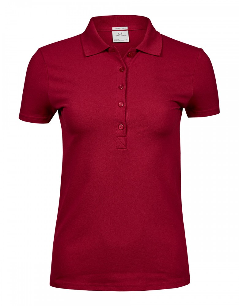Damen Stretch Poloshirt Mila