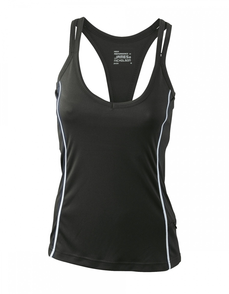 Damen Running Top Reflex