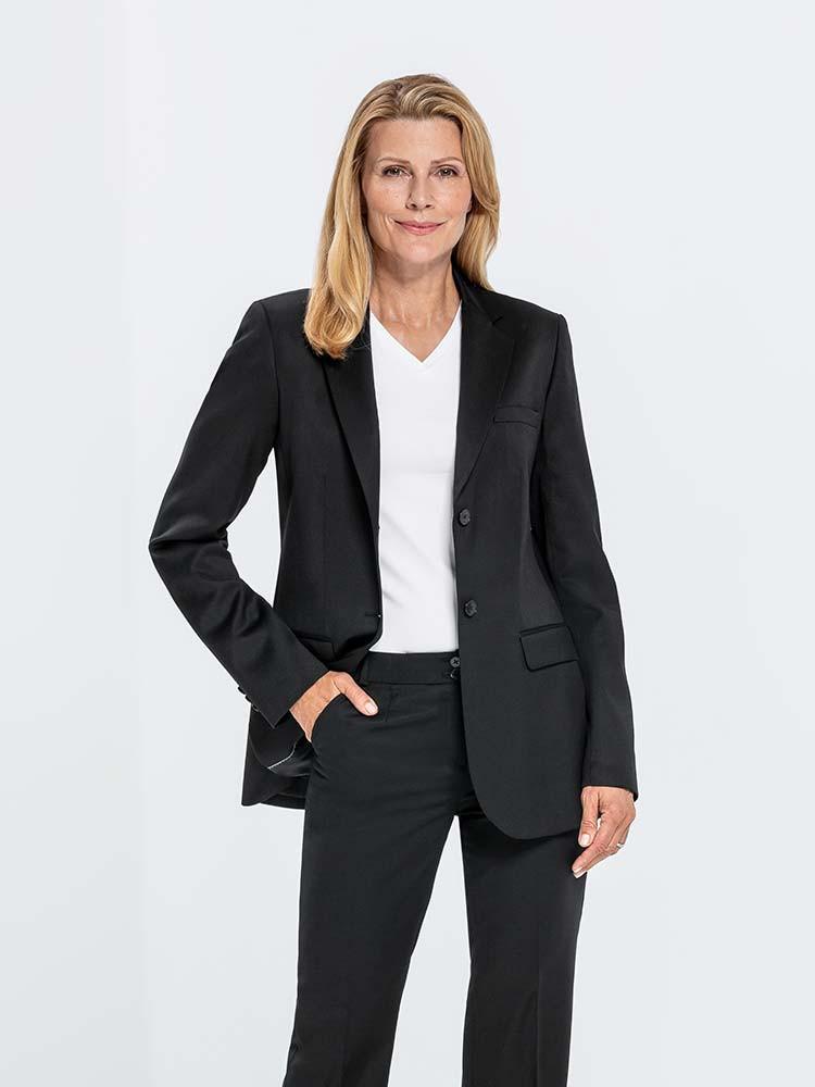 damen blazer basic lang como corporate fashion. Black Bedroom Furniture Sets. Home Design Ideas
