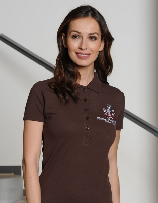 Womens Stretch Polo Mila