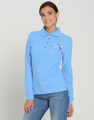 Damen Poloshirt Andrea Langarm