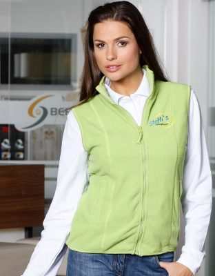 Womens Microfleece Vest
