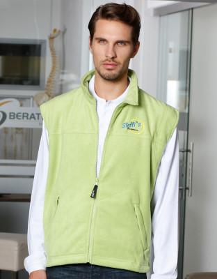 Mens Microfleece Vest
