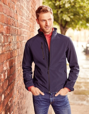 Mens Softshell Jacket Theo