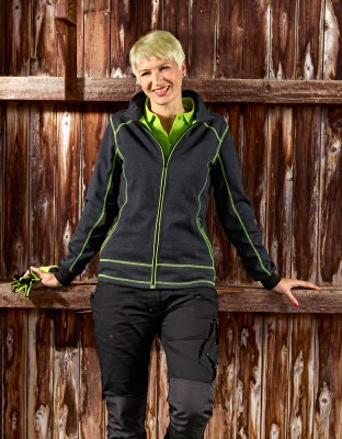 Professional ladies sweat jacket