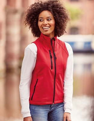 Womens Softshell Vest Vivian
