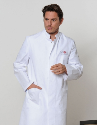 Stefan Mens Lab Coat
