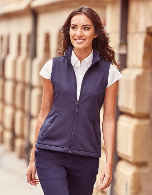 Womens Softshell Vest Smart