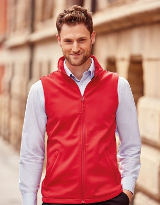 Mens Softshell Vest Smart