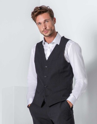 Herren Weste Premium Regular Fit