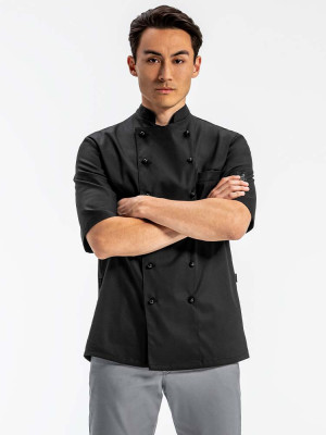 Veron Unisex Chefs Jacket Shortsleeved