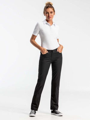 Womens Chefs Trousers Black