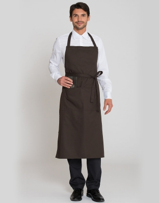 Manhattan Bib Apron Pocket 110x78cm