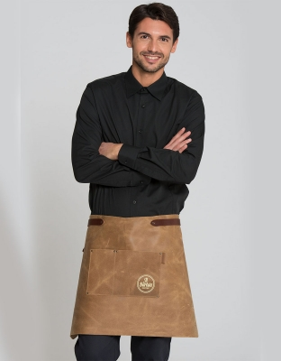 Jacksonville Leather Apron 73x45 cm