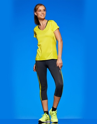 Womens 3/4 Running Tights