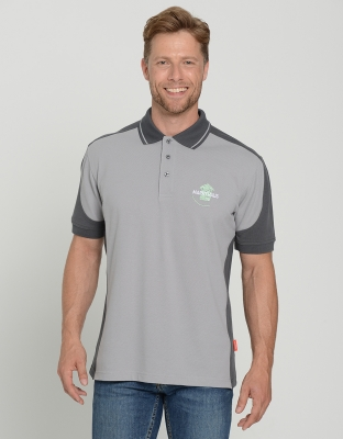 Mens Performance Polo Contrast