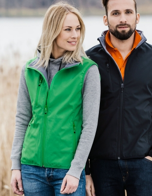 Womens Softshell Vest Basic