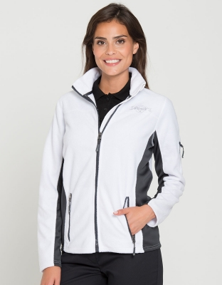Damen Workwear Fleece Jacke