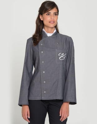 Lafayette Denim Womens Chefs Jacket