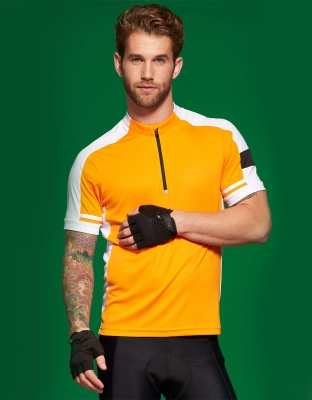 Mens Bike Shirt Cooldry Half Zip