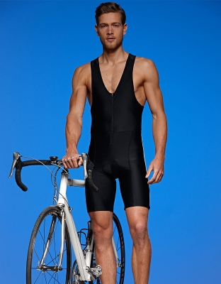 Mens Bike Shorts with Straps