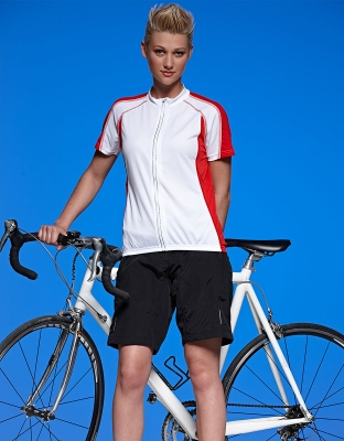 Damen Bike Shorts 2-in-1