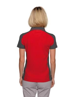 Damen Performance Poloshirt Contrast