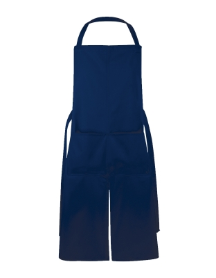 Manhattan Bib Apron Pocket Slit 110x78 cm