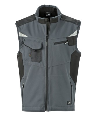 Unisex Workwear Softshell Vest