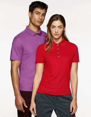 Womens Polo Coolmax