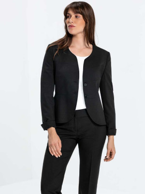Women's Blazer Service with Dividing Seams