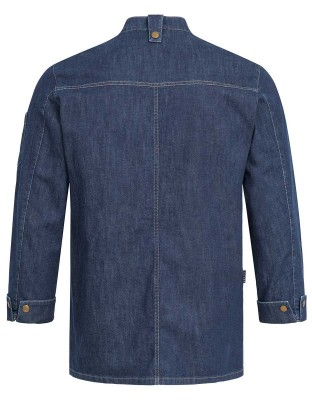 Mick Mens Chefs Jacket Denim