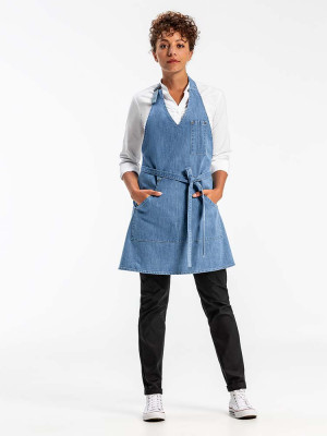 Womens Bib Apron Denim