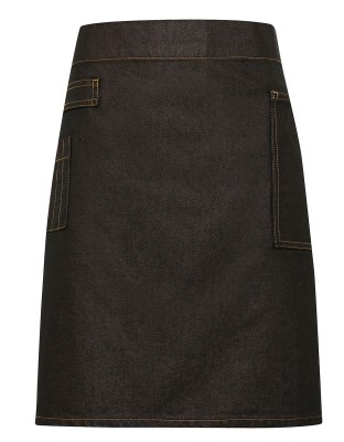 Denim Bistro Apron Division Waxed Look
