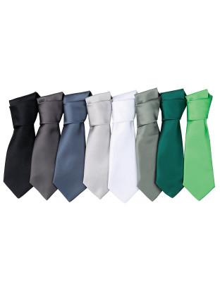 Satin Krawatte Colours