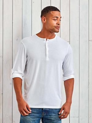 Herren Shirt Henley