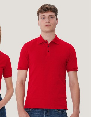 Mens Polo Shirt Cotton-Tec
