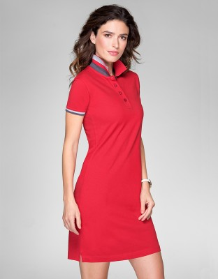 Ina Damen Polokleid