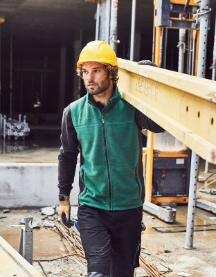 Men's Workwear Fleece Vest