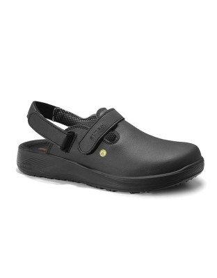 Safety shoe man MICHEL black ESD OB