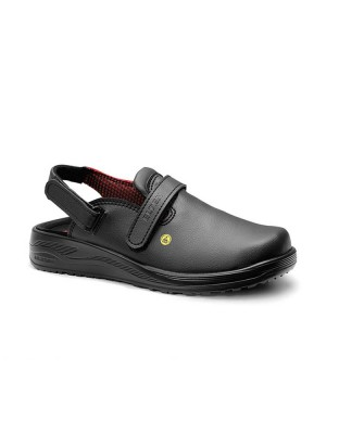 Safety shoe woman MIA black ESD OB
