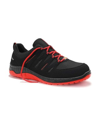 Safety shoe MADDOX black-red Low ESD S3