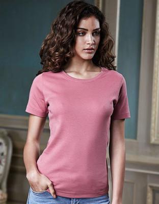 Damen T-Shirt Rundhals