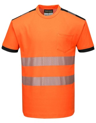 PW3 warning protection T-shirt short sleeve