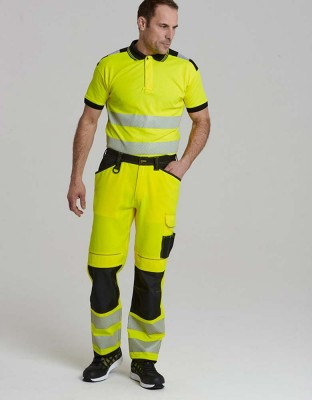 PW3 warning protection work trousers