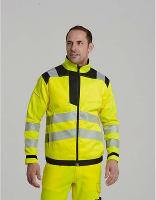 PW3 warning protection jacket