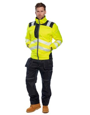 PW3 warning protection rain jacket