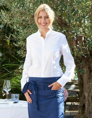 Blouse Corvara stand-up collar